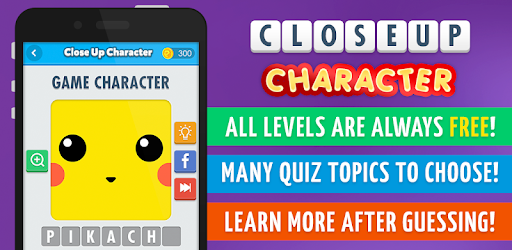 Close Up Character - Pic Quiz! for PC