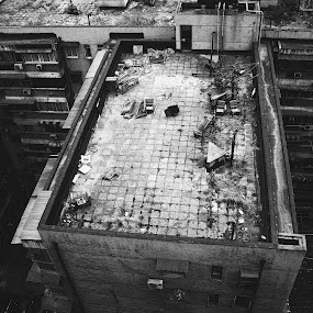Is this the way people live? by Martin Jolicoeur - Buildings & Architecture Other Exteriors ( exclusion, poverty, china )