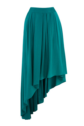Photo: Asymmetric Drape Skirt. Was £38 now £20.   Get yours now at: http://www.warehouse.co.uk/sale-preview/dept/fcp-category/categorylist?resetFilters=true