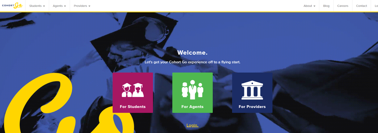 Screenshot of Cohortgo - Cohort Based Course Platform
