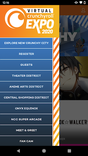Virtual Crunchyroll Expo screenshot 1