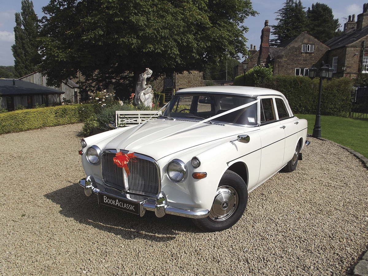 Rover P5 Saloon Hire Stockport