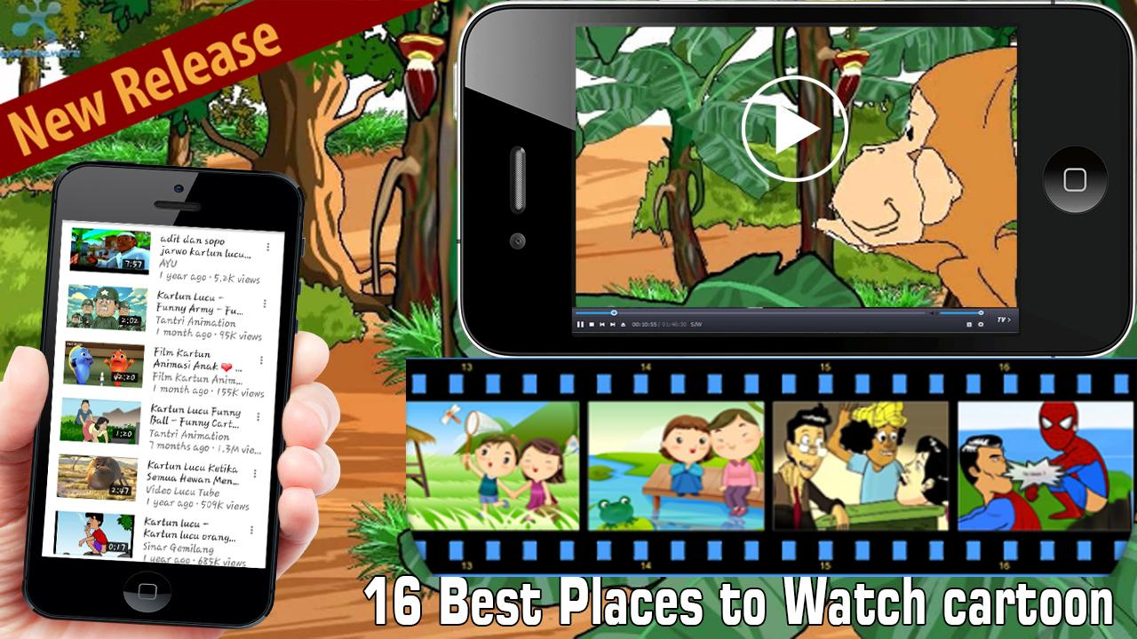KL Video Kartun Lucu Android Google Play