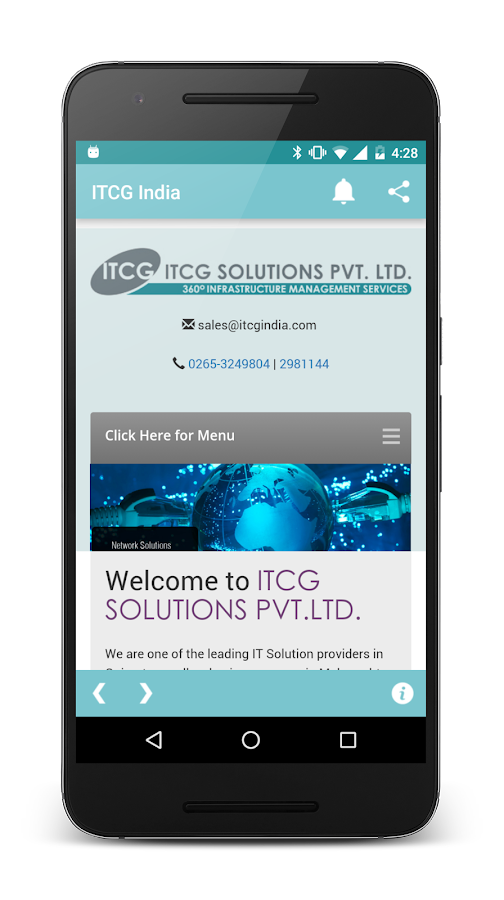 ITCG India- screenshot