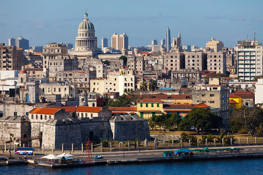 Cuba-Havana-Dense-Urban-Landscape_01.jpg - Havana, Cuba, is now a destination for Fathom cruises.
