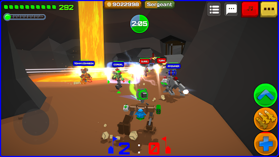 Armored Squad: Mechs vs Robots Online Action Screenshot