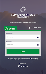 Supplychain TraceabilityRC APK screenshot thumbnail 1