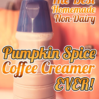 Best Homemade Pumpkin Spice Creamer EVER!