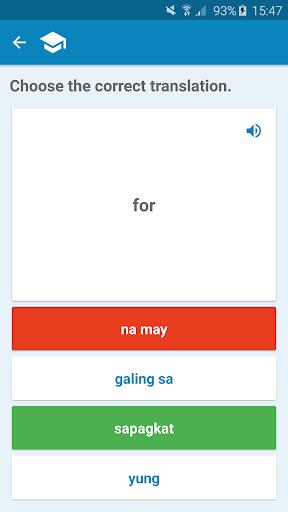 Filipino-English Dictionary screenshot 3