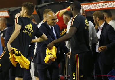 """A côté de Lukaku et Hazard, Martinez a vu un autre Diable sortir du lot: """"Important de le voir sourire à nouveau"""""""