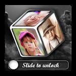 3D Photo cube Lock Screen