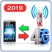 3G to 4G Switch 2019 - Data Use Tracker‏