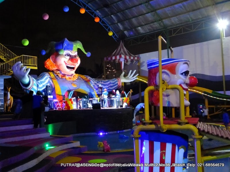 konser music di sirkus waterplay