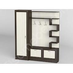 Прихожая-24 мебель разработана и произведена Фабрикой Тиса мебель
