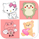 Cute & Sweet Emoticons Sticker