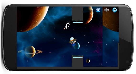 Flappy Alien screenshot