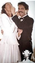 Photo: Gerald and Trisha Posner, wedding day, 1984.