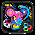 Music City GO Launcher Theme icon