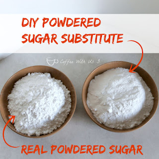 DIY Powdered Sugar Substitute