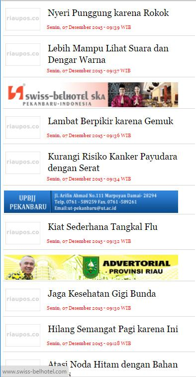 Riau Pos- screenshot