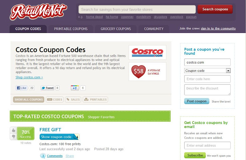 Photo: It dawned on me I hadn't checked for coupons, so I hopped over to RetailMeNot.com to check - no coupons, but at least I knew I wasn't missing out on saving money.