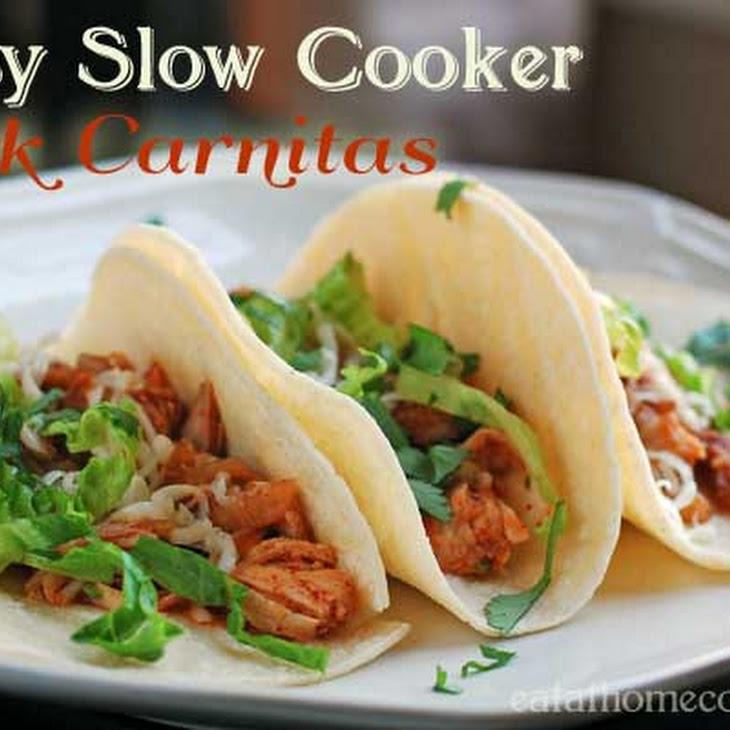 Easy Slow Cooker Pork Carnitas – Weeknight Dinner Favorite