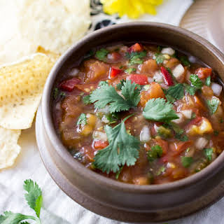 5-ingredient authentic Mexican salsa.