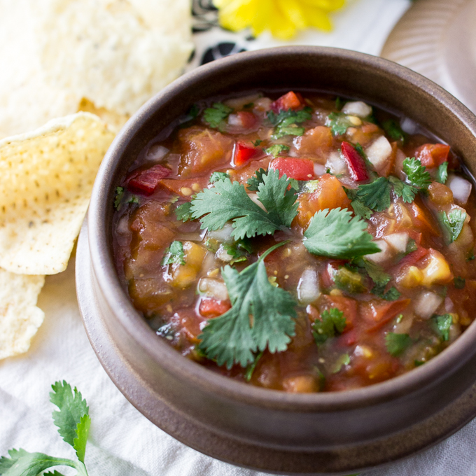 5-Ingredient Authentic Mexican Salsa Recipe