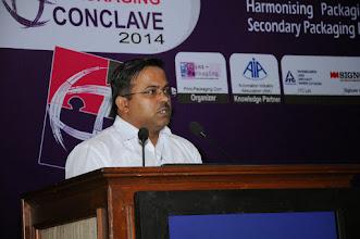Photo: Amitabh Kumar, Head of Packaging, Oriflame India