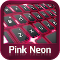 GO Keyboard rose néon icon