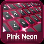GO Keyboard Pink Neon 3.1 Apk