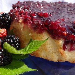 Blackberry Upside Down Cake