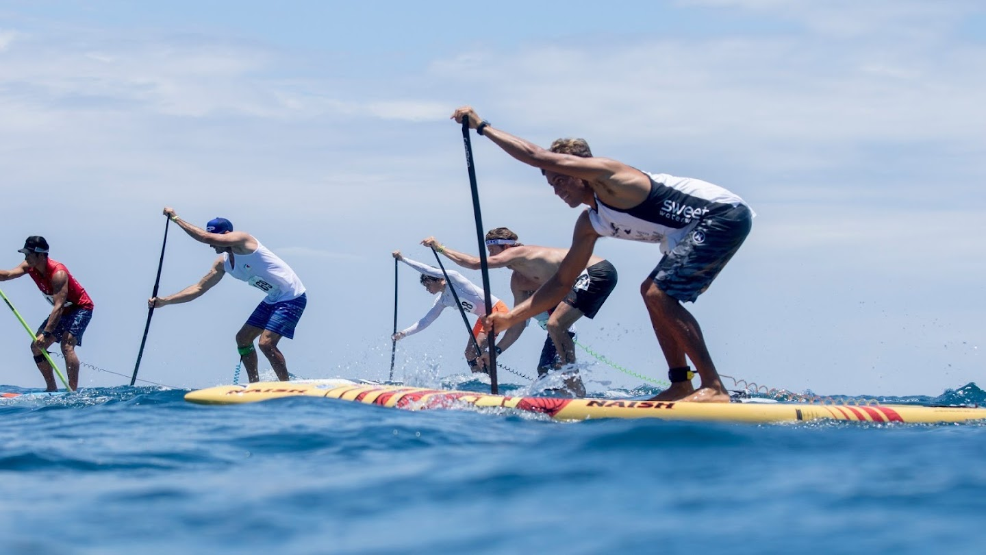 Watch APP Paddlesurf Red Bull Heavy Water live