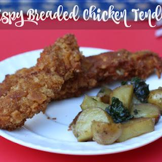 Crispy Breaded Chicken Tenders.