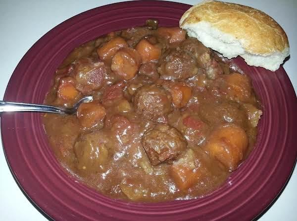 Meatball Stew Recipe