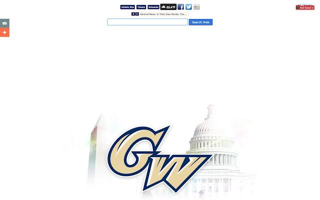 George Washington University New Tab