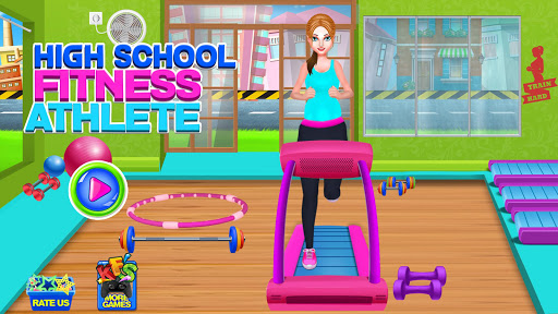 High School Fitness Athlete: Acrobat Workout Game android2mod screenshots 4
