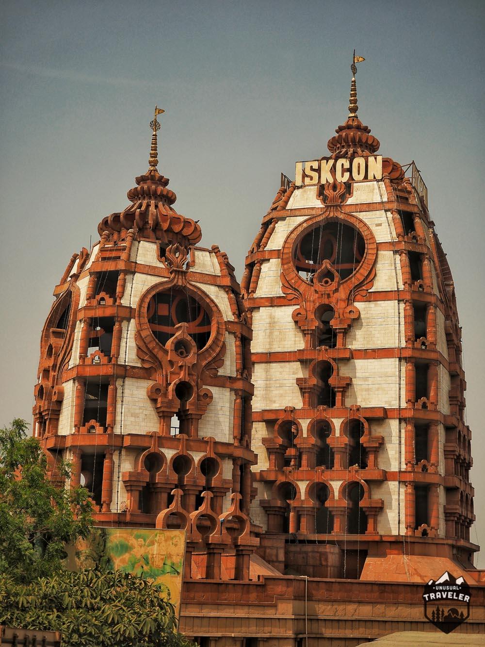 Lord Krishna Temple in New Delhi