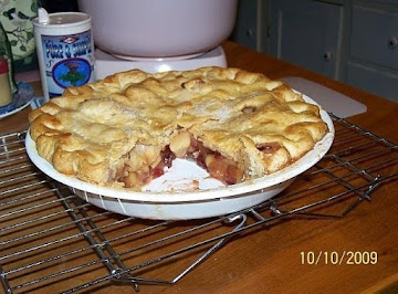 Cin's Splendid  Apple-cranberry Pie Recipe