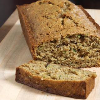 Spiced Whole Wheat Zucchini Bread