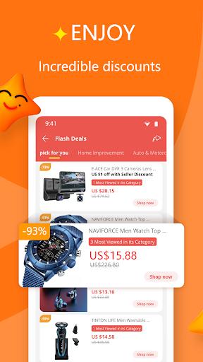 AliExpress - Smarter Shopping, Better Living 8.15.3 Screenshots 4
