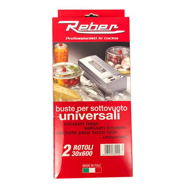 Reber Vakuumpåse på Rulle 30x600 2pack