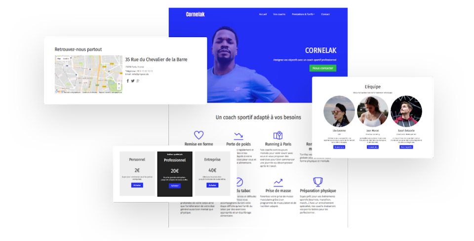 templates responsive design orson
