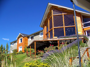 Photo: Hotel Blanca Patagonia in El Calafate -- very warm weather here!