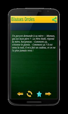Blagues Droles - screenshot