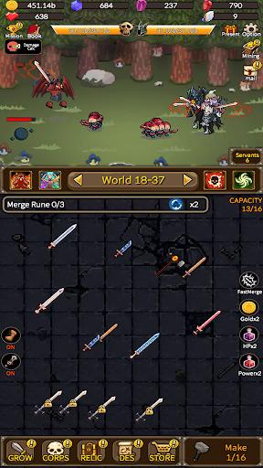 Télécharger Gratuit Devil Smithy : Merge Idle mod apk screenshots 1