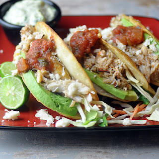 Fried Crab Tacos.