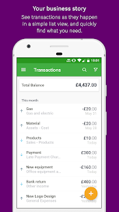 Sage Expenses & Invoices- screenshot thumbnail