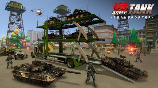 PC u7528 US Army Tank Transporter Truck 1