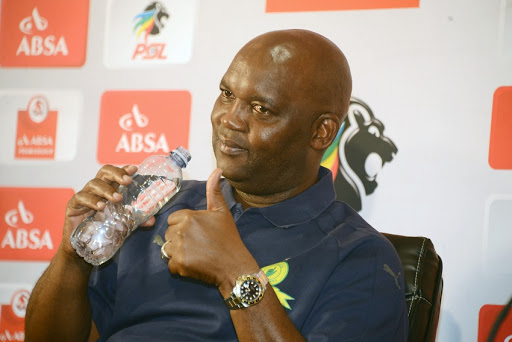 Pitso Mosimane: 'I don't know how many points we really have.'